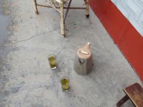 在紫阳县农村 富硒茶是这样喝的
